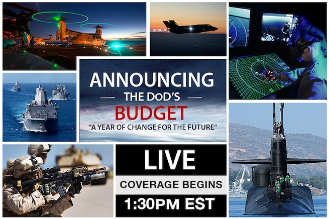 Senior defense leaders are scheduled to discuss the president's proposed fiscal year 2017 defense budget request during a series of briefings at the Pentagon. Watch it live here.