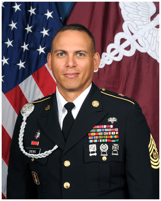 Command Sergeant Major Albert Crews Gt Joint Base San