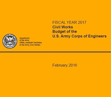 The President's Budget for fiscal year 2017 (FY 2017) includes $4.620 billion in gross discretionary funding for the Civil Works program of the U.S. Army Corps of Engineers (Corps).