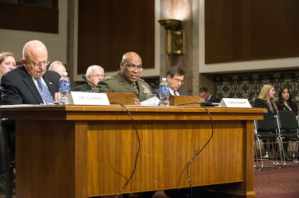 DIA Director Lt. Gen. Vincent Stewart testifies before the SASC.