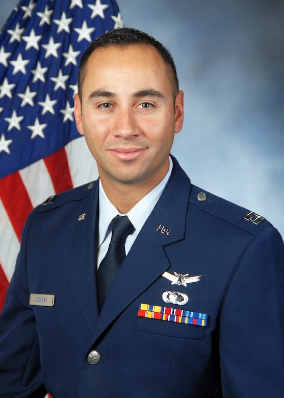 Capt. Aurelio Izzy Irizarry from the Global Positioning System Directorate at the Space and Missile Center, Los Angeles Air Force Base, El Segundo, Calif., is named Warrior of the Week for SMC Mission of the Month (Official U.S. Air Force photo)