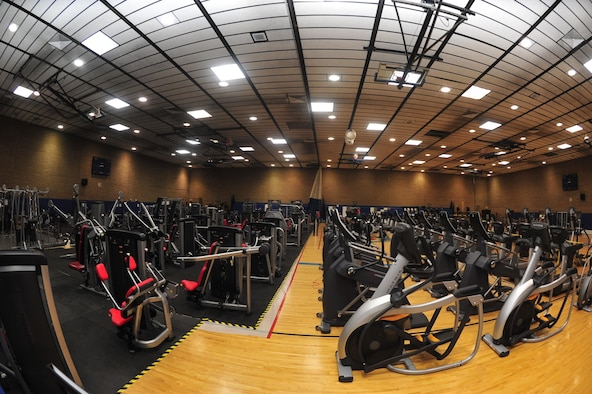 New Equipment At Temporary Gym Gt Luke Air Force Base