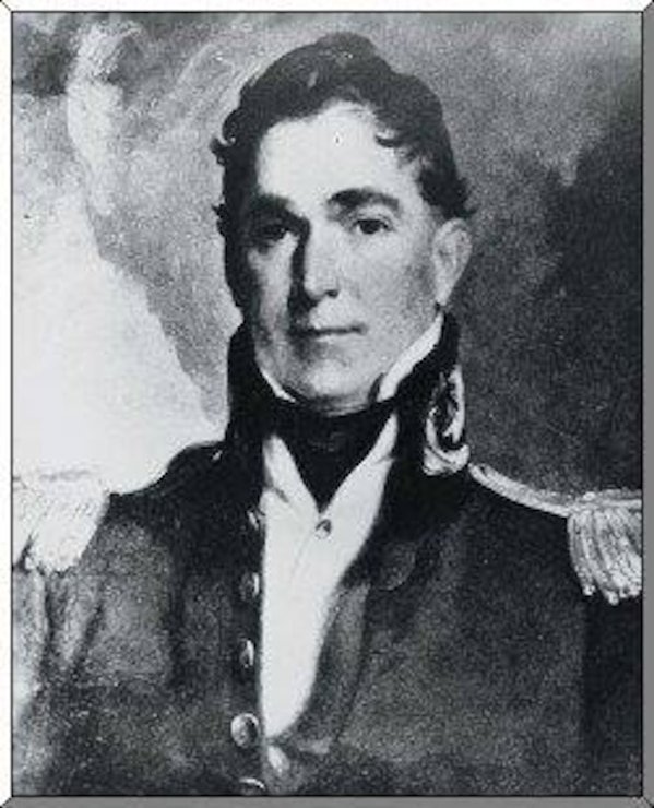 Col. Charles Gratiot, Chief Engineer, Detroit District 1817-1818. He later served as the Chief Engineer for USACE from 1828-1838.