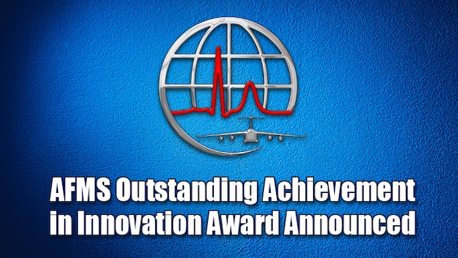 AFMS outstanding achievement in innovation award announced