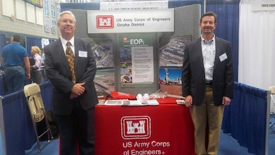 Robert Giles and Doug Foster took their message on the road to Colorado School of Mines on February 9 to educate students on the opportunities with the U. S. Army Corps of Engineers. This is just one of a number of fall and spring career fairs attended by the Omaha District.
