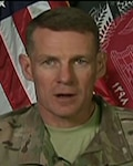 Resolute Support Mission Spokesman Army Brig. Gen. Wilson Shoffner