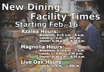 Dining Facility Hours