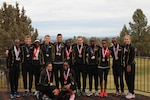All-Army team photo.  The 2016 Armed Forces Cross Country Championship was held in conjunction with the USA Track and Field National Championship in Bend, Ore.  Army Men and Women teams swept the team competitions.  Army Men captured their third straight title with the Women repeating their 2015 performance.  Photo by Tom Higgins, Army Sports
