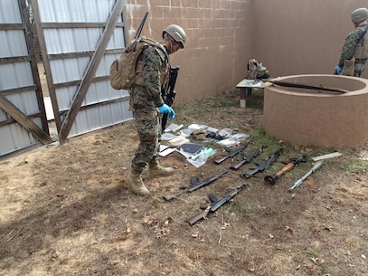 Students exploit weapons cache.