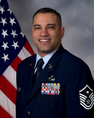 Master Sgt. William Garcia, 436th Aircraft Maintenance Squadron first sergeant