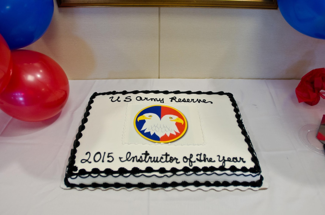 The U.S. Army Reserve Instructor of the Year, representing the officer, warrant officer, and noncommissioned officer category, were honored in the first U.S. Army Reserve Command hosted Instructor of the Year Ceremony at USARC headquarters, February 11, 2016. The Training and Doctrine-U.S. Army Reserve Instructor of the Year winner will be announced April 8, 2016. (U.S. Army Reserve photo by Brian Godette, USARC Public Affairs)