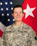 Former DLA Distribution commander Army Maj. Gen. Susan Davidson