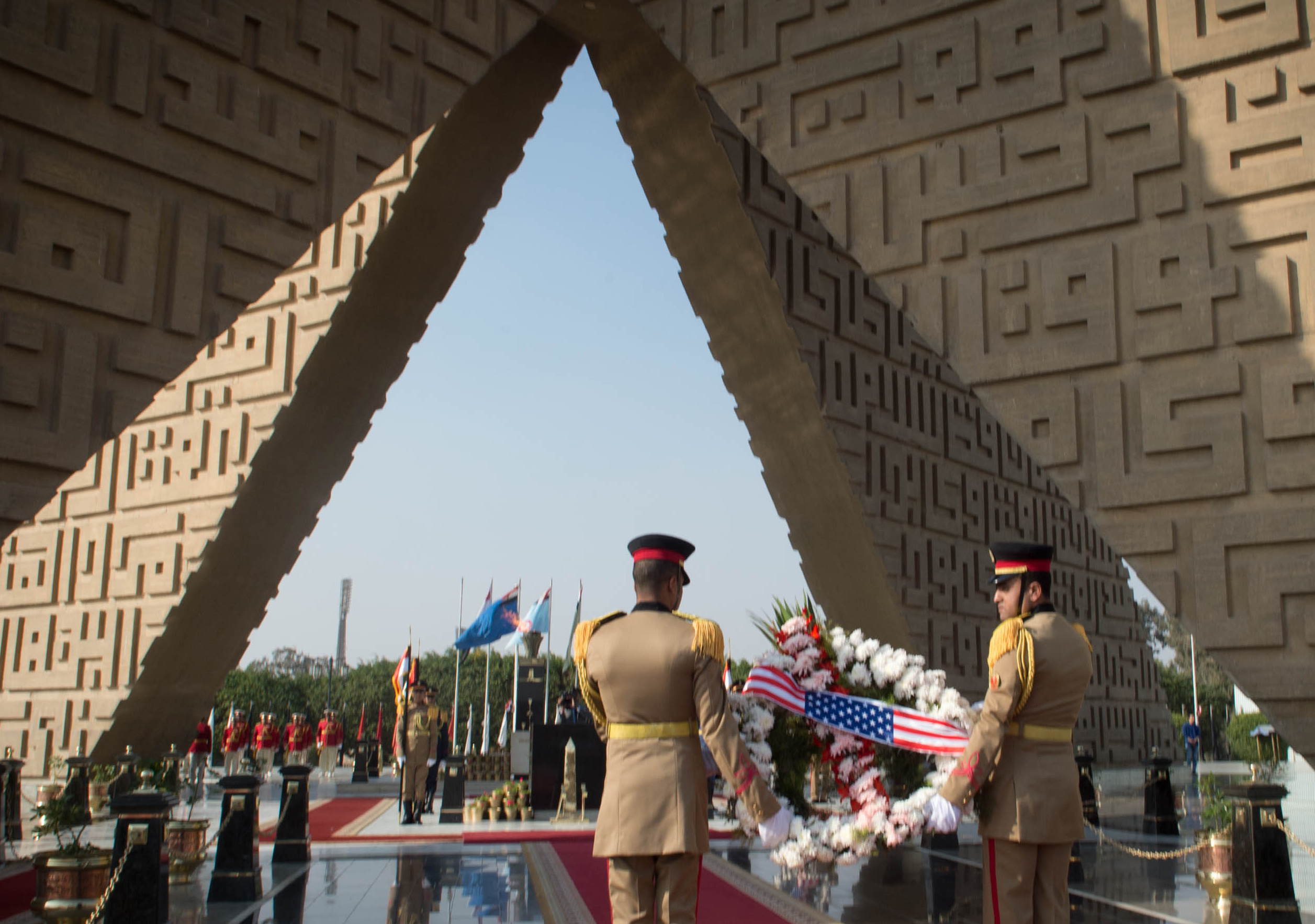 Dunford Egyptian Defense Leaders Discuss Bilateral Relationship