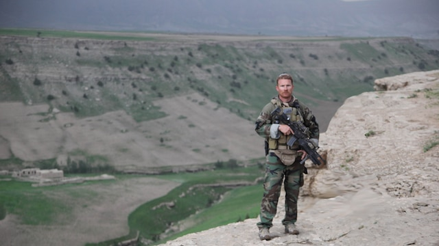 Master Sergeant Eden M. Pearl deployed with Fox Company, 2nd Marine Raider Battalion, to Herat Province, Afghanistan, in 2009.