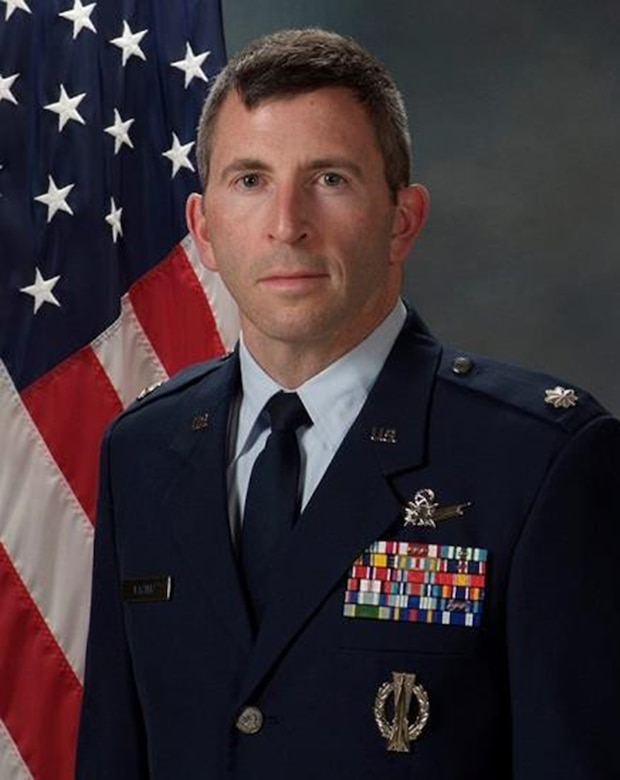 Lt. Col. Marty Easter, 23rd Space Operations Squadron commander