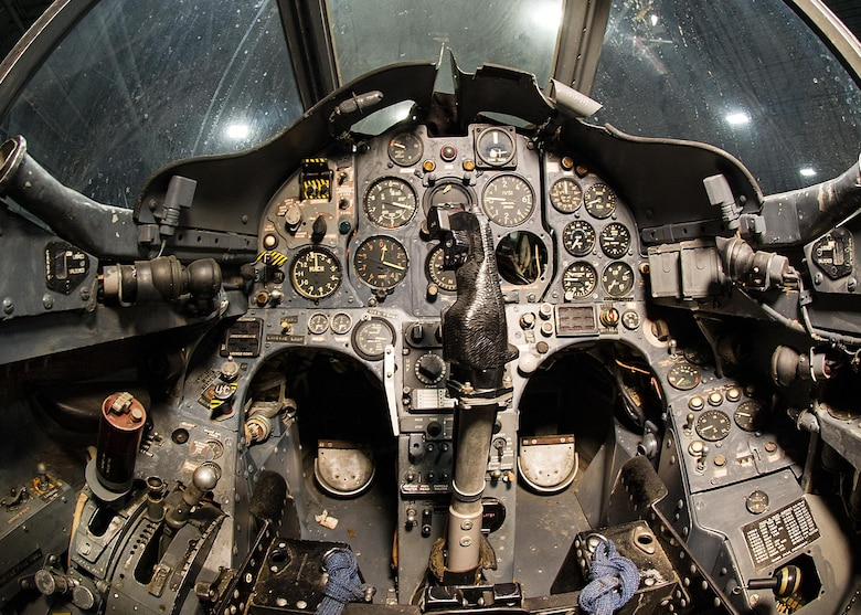 DAYTON, Ohio -- Hawker Siddeley XV-6A Kestrel cockpit view at the National Museum of the United States Air Force. (U.S. Air Force photo)