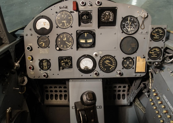 DAYTON, Ohio - Ryan X-13 Vertijet cockpit at the National Museum of the U.S. Air Force. (U.S. Air Force photo)