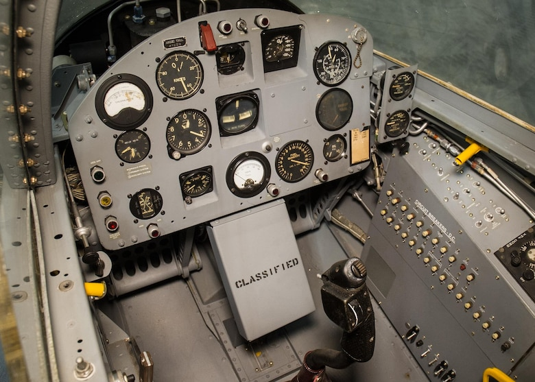 DAYTON, Ohio -- Ryan X-13 Vertijet cockpit view at the National Museum of the United States Air Force. (U.S. Air Force photo)