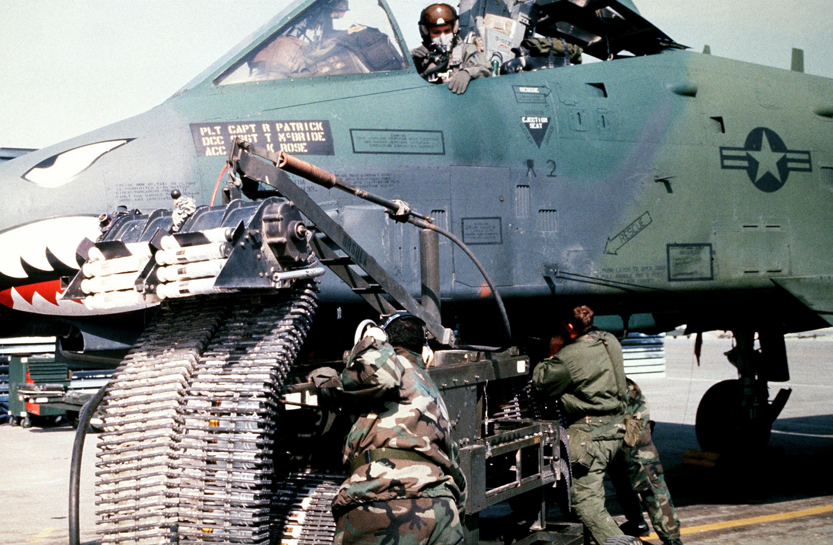 Twenty-five years later: Fairchild in Desert Storm