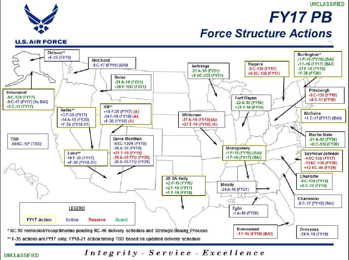 force structure map photo details  download hires  of . president's fy budget impacts air force reserve  th air