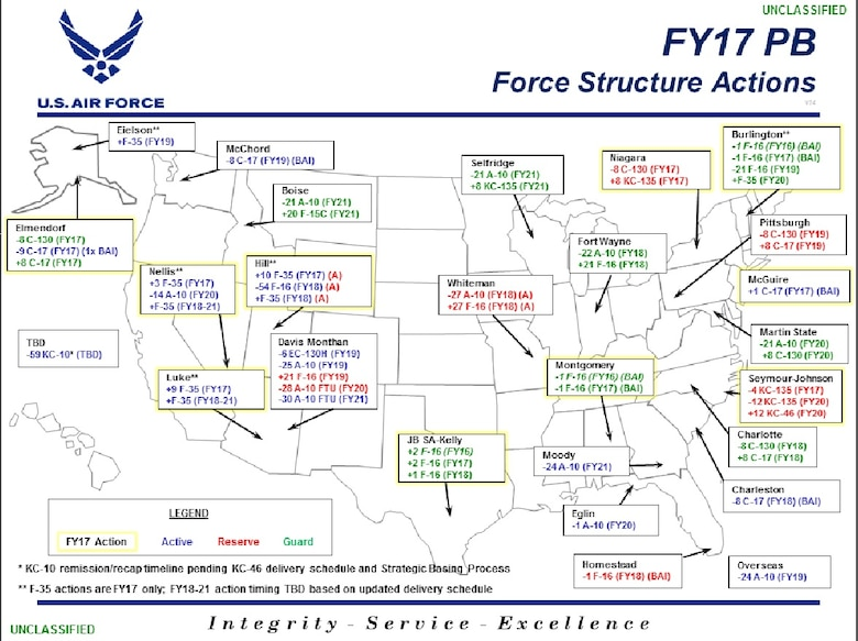 Force Structure Map