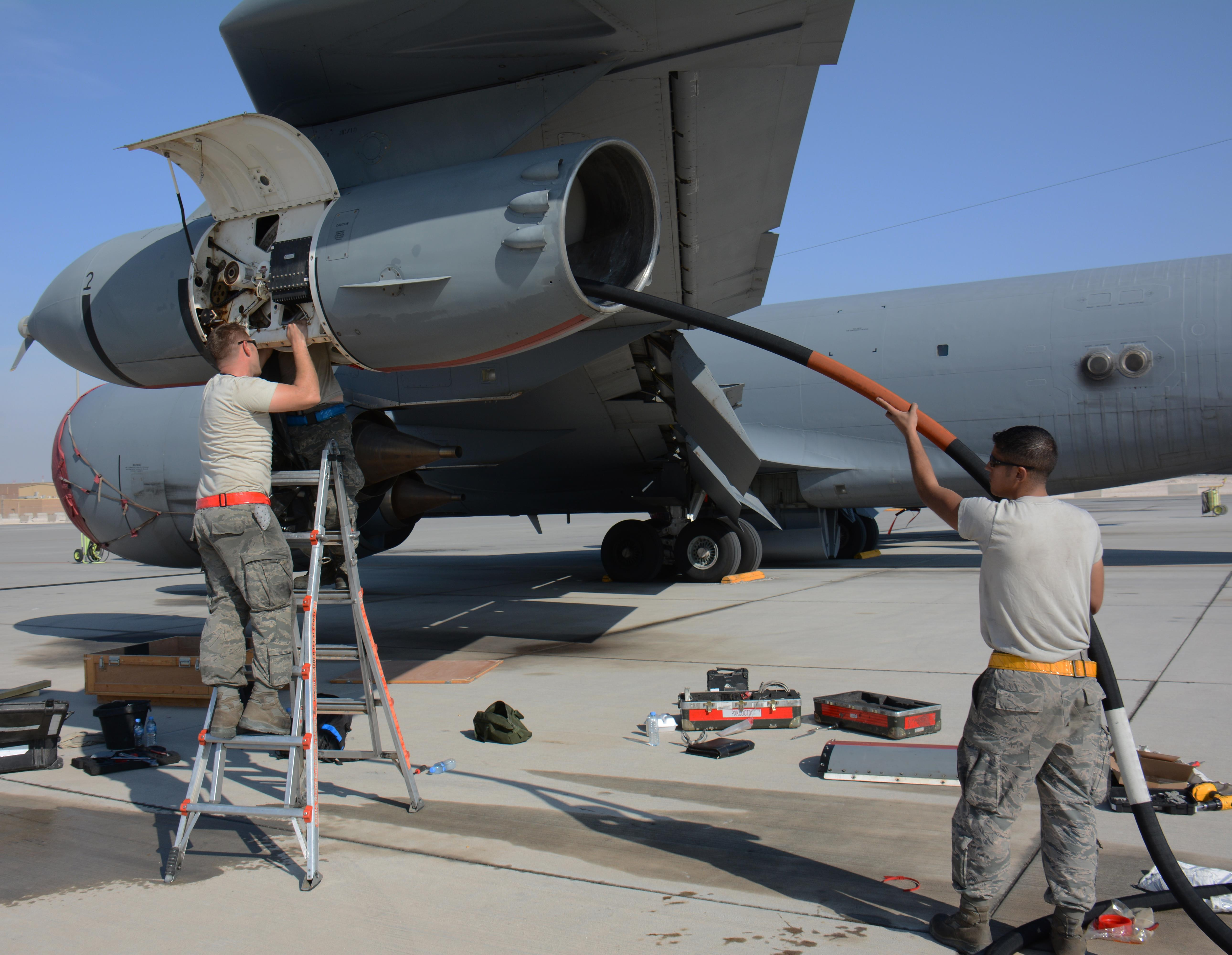 Maintainers Keep Kc 135s Flying Downrange Gt U S Air Force