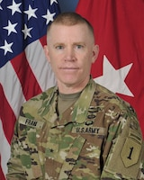 Brigadier General Patrick D. Frank, Deputy Commanding General (Support), 1st Infantry Division
