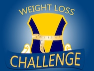 "From now until Jan. 8, 2016, people can sign up for the ""Biggest Loser"" challenge at the Ramstein Southside Fitness Center at Ramstein Air Base, Germany. The challenge gives participants three months, from Jan. 12 to April 5, to lose as much weight as possible and encourages them to attend classes throughout the fitness community taught by Health Promotion, Outdoor Recreation and the Aquatic Center to keep them on track. (U.S. Air Force graphic/Senior Airman Jonathan Stefanko)"