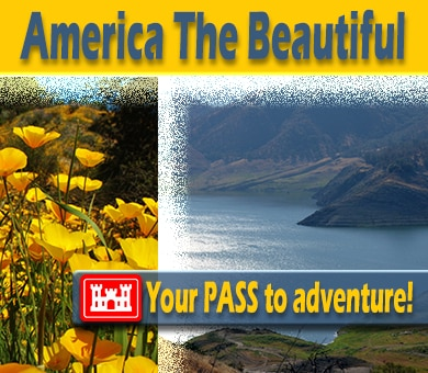 The U.S. Army Corps of Engineers now issues America the Beautiful National Parks and Federal Recreational Lands interagency passes at its parks and lakes. Click to read details and get your pass to adventure.