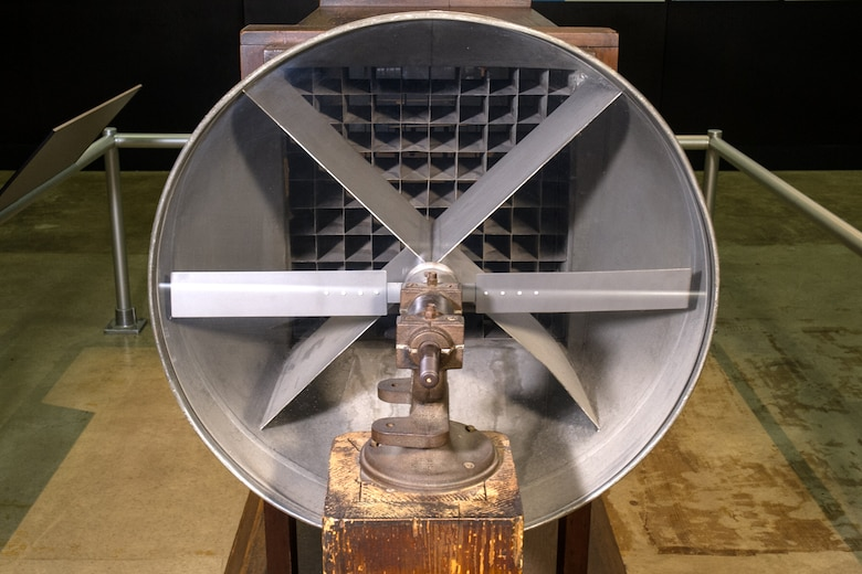 Wright Brothers 1901 Wind Tunnel on display in the Early Years Gallery at the National Museum of the United States Air Force. (U.S. Air Force photo)