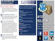 AFOSI social network tips.
