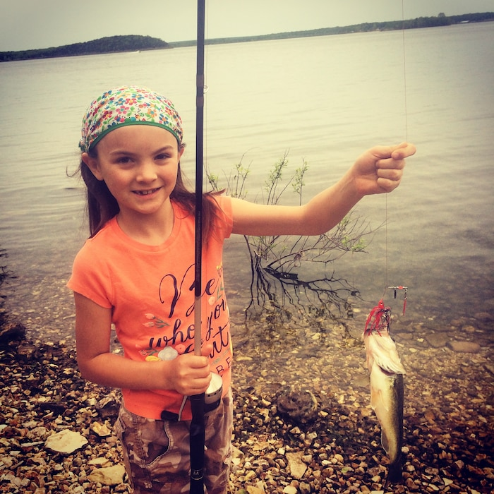 """March Winner - Michelle Burge """"Mother's Day Bass"""""""