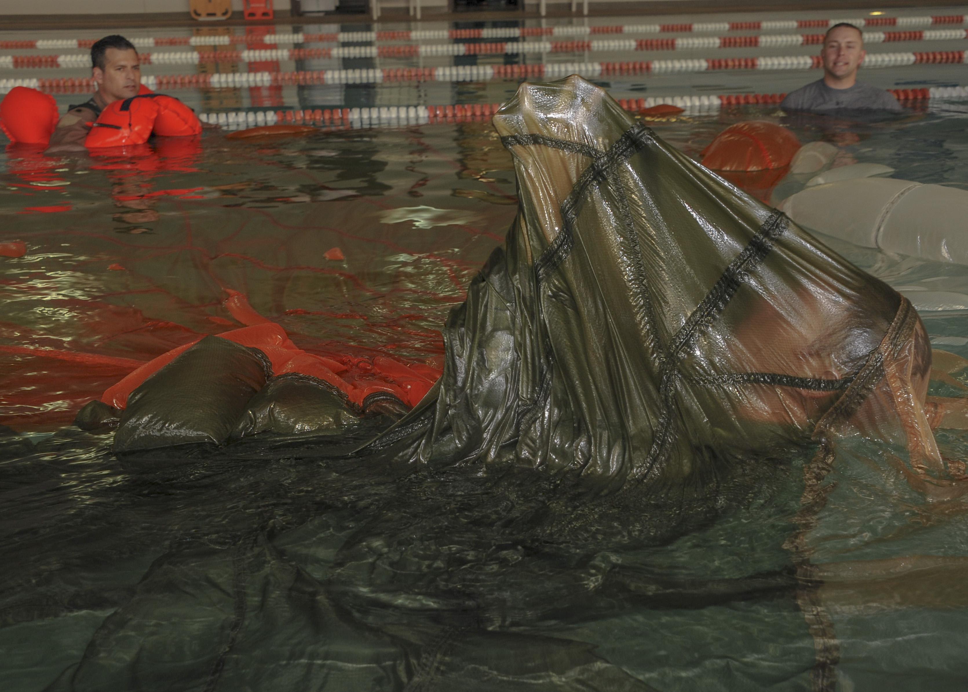 SERE water survival training > Davis-Monthan Air Force Base