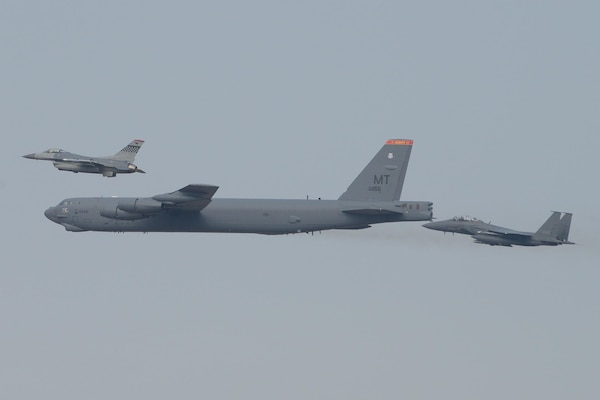 United States Air Force B Stratofortress From Andersen Air Base - United states air force bases