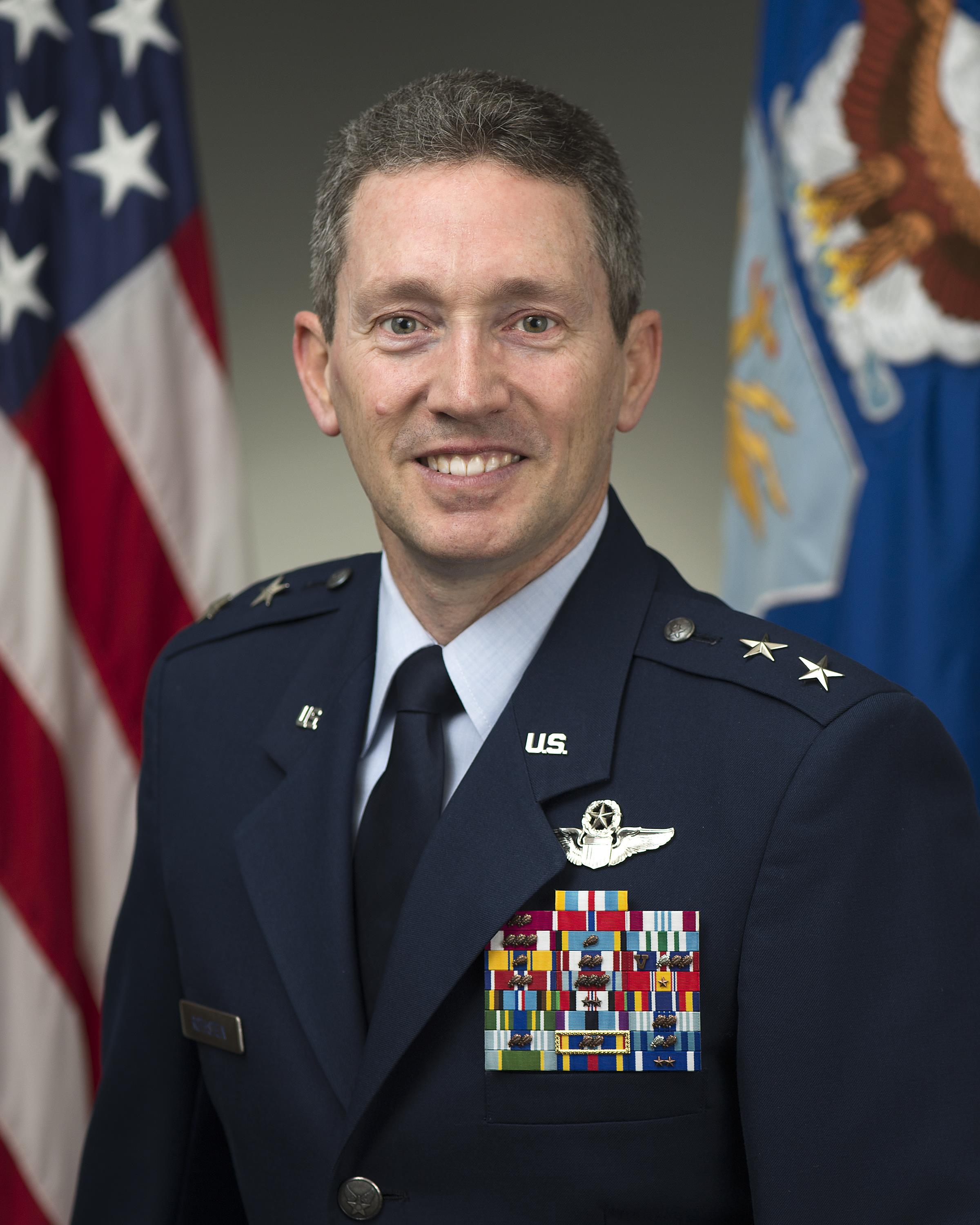 Biographies: MAJOR GENERAL MICHAEL D. ROTHSTEIN > U.S. Air Force