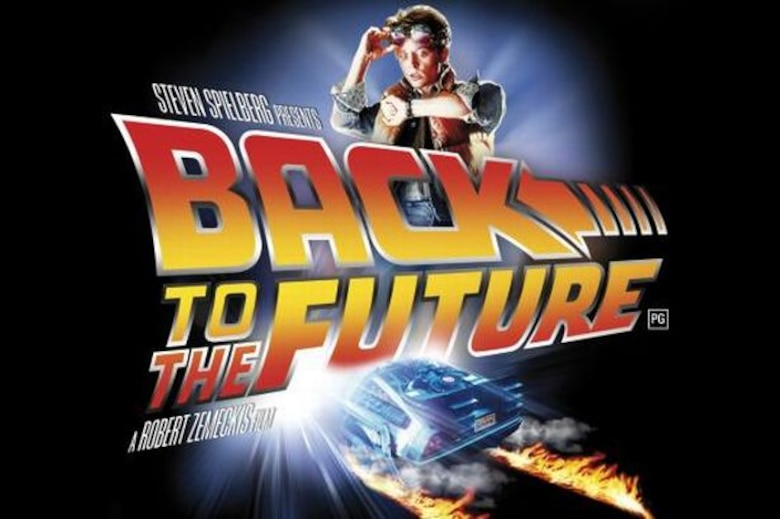 """The Air Force Museum Theatre will show """"Back to the Future"""" at 4 p.m. on Jan. 24, 2016, as part of its Hollywood Series, sponsored by Cassano's Pizza King."""