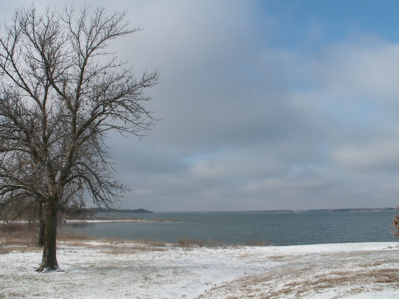 Please use caution when recreating at the lake during the cold season. Always be aware of changing lake conditions.