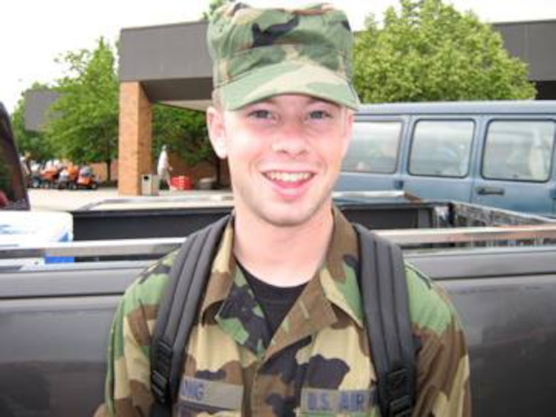 Robert Geoffrey Long was born on December 15, 1985 in Lubbock, Texas. Rob joined the USAF Reserves in 2005 and served a tour in Iraq in 2007/2008. He transitioned to the Navy Reserves where he became a Corpsman. (U.S.Air Force/ Courtesy Photo)