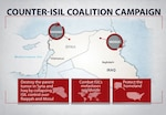 Defense Secretary Ash Carter outlined the three military objectives for the coalition's campaign against the Islamic State of Iraq and the Levant during a speech at Fort Campbell, Ky., Jan. 13, 2016. (DoD graphic)