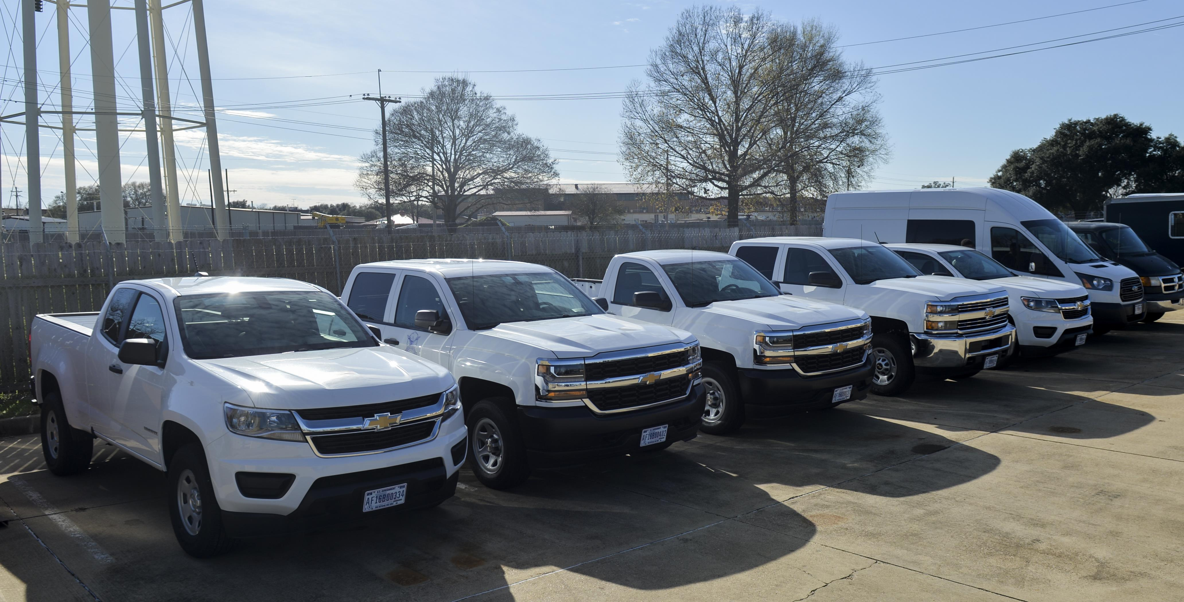 Bread trucks to flower trucks: Barksdale receives 96 new rides ...