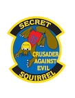 """Secret Squirrel"" mission patch created by the men who took part in the