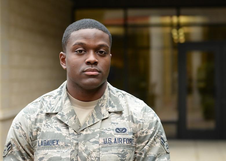 Airman 1st Class Eric Labauex, 9th Civil Engineer Squadron. (U.S. Air Force photo by Robert Scott)