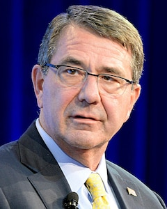Portrait of Defense Secretary Ash Carter.