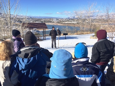 Abiquiu Lake hosted its annual Midwinter Eagle Watch, Sat. Jan. 9, 2016. Click to read more!