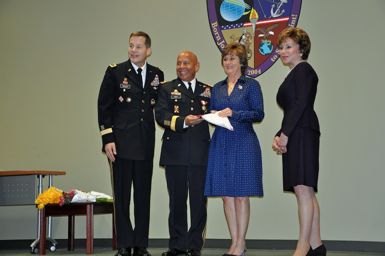 In a retirement ceremony held on Jan. 16, 2016, co-hosted by the U.S. Army Reserve and the University of South Florida, Lt. Gen. Jeffrey Talley, Chief of the Army Reserve, recognized Maj. Gen. Luis Visot for his more than 37 years of service to the Army and the nation. During this same ceremony, Dr. Judy Genshaft, President of the University of South Florida System, recognized Visot for his retirement from his civilian occupation after 35 years of dedication to the university and its students where he earned his nickname, 'Dean of Fun'.
