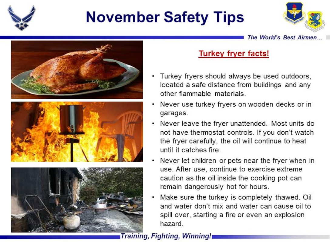 Turkey Fryer Facts and Safety