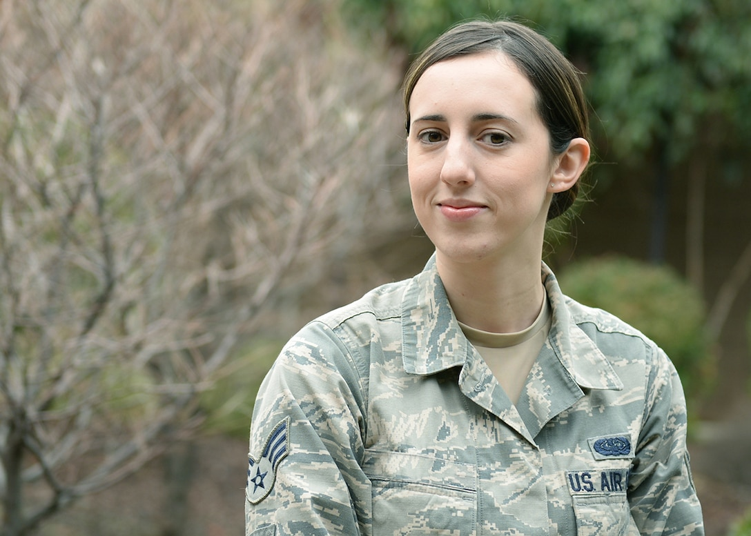 Senior Airman Madison, 48th Intelligence Squadron (U.S. Air Force photo by Robert Scott)