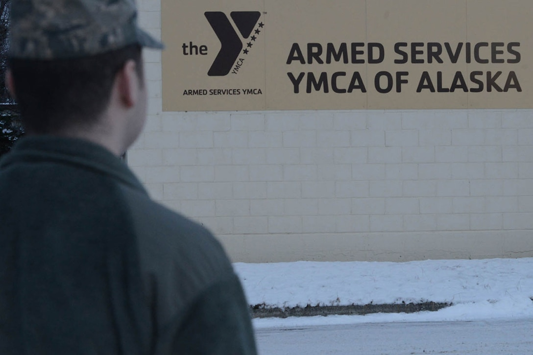 The Armed Services YMCA of Alaska Headquarters is located on Joint Base Elmendorf-Richardson. The ASYMCA staff work with base leadership to enhance services needed on the installation. (U.S. Air Force photo by Airman 1st Class Javier Alvarez)