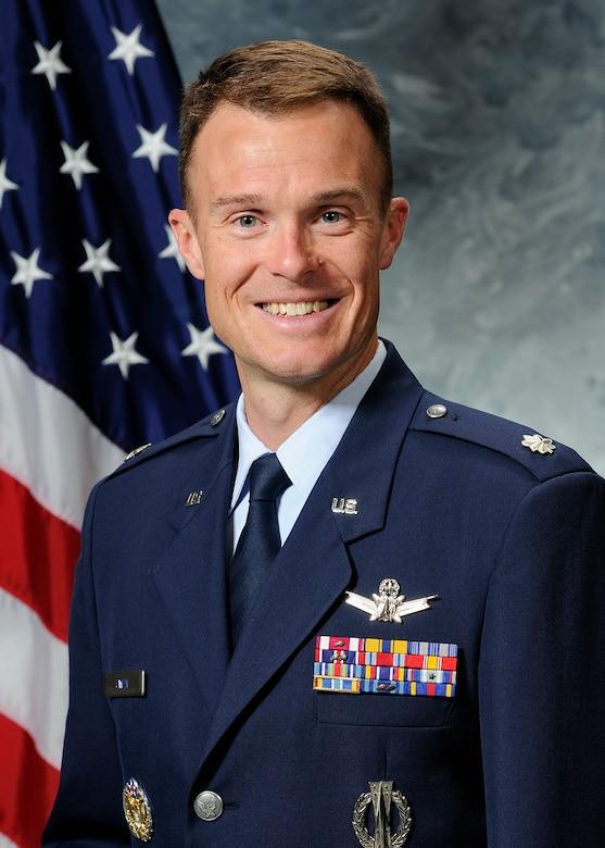 Lt. Col. Zachary Owen, 3rd Space Experimentation Squadron commander