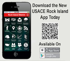 USACE Rock Island Mobile App graphic